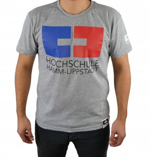 T-Shirt rot-blau